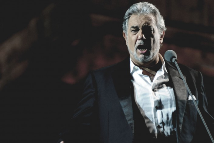 Plácido Domingo en Chile
